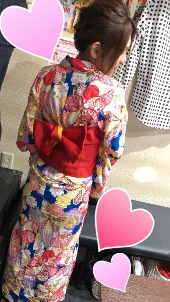 こんばんわーまりあです(^o^)浴衣イベントーー🙌髪もセッ...写真