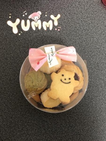 昼職の店長が「いつもありがとう」ってクッキーくれましたἶ...写真