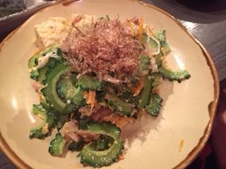最近沖縄料理にはまっています。どうもルイナです♡これ、ゴーヤチ...写真