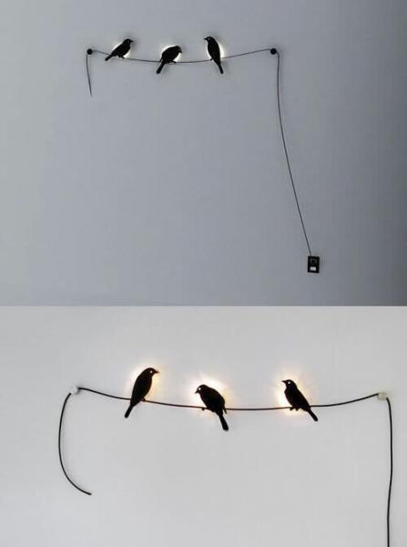 このウォールランプ可愛い(*´∀`*)ランプとして仕事はあまりしな...写真