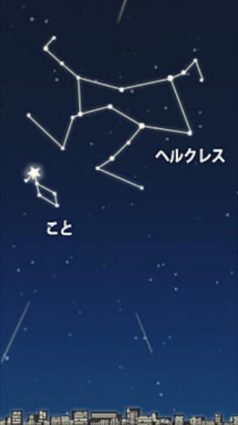 (⌒▽⌒)こんばんは流星群やっております『こと』です(⌒▽⌒)昨日がピ...写真