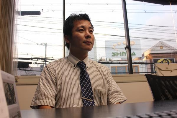 岩木(36) 勤続年数:3年2ヶ月 役職:主任