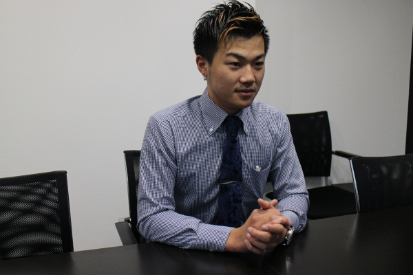 太田(19) 勤続年数:10ヶ月 役職:主任