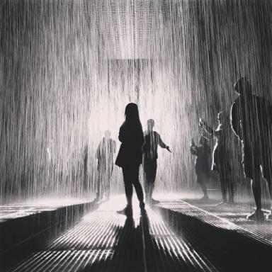 雨☔割写真