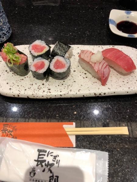 乙姫家の近くのお寿司屋さんで本マグロフェアなるものを開催して...写真