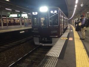 電車で帰宅 -久し振りの電車通勤-