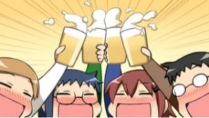 乾杯 ♪(*^^)o∀*∀o(^^*)♪