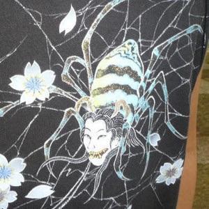人間に恋した女郎蜘蛛。